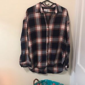 Old Navy boyfriend flannel